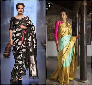 Top Silk Saree Designers, Santosh Parekh Silk Sarees, Silk sarees deisgners, handloom silk sarees trends, designers for silk sarees, top designer silk sarees, modern silk sarees, patola silk sarees, banarasi silk designer sarees,