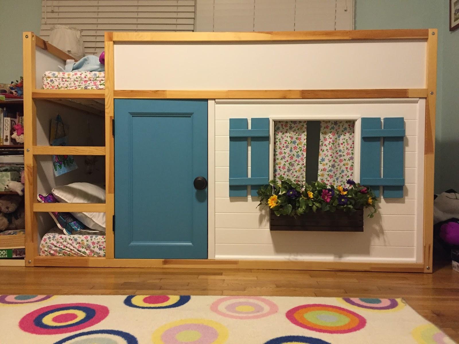 Ikea hack la cama kura handbox craft lovers comunidad for Cajones bajo cama ikea