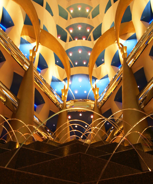 Burj Al Arab Hotel In Dubai Architecture
