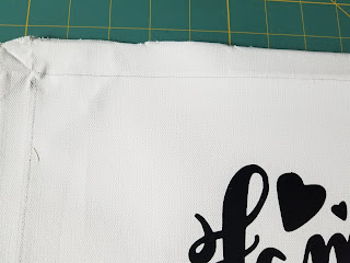 A DIY step by step reverse canvas tutorial for Cricut or Silhouette users