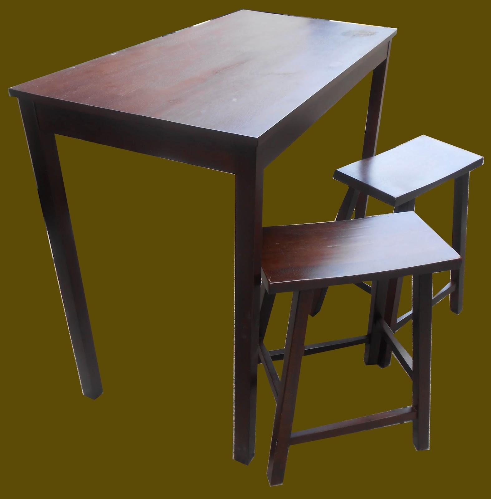 Uhuru Furniture Amp Collectibles Mahogany Bar Height Table