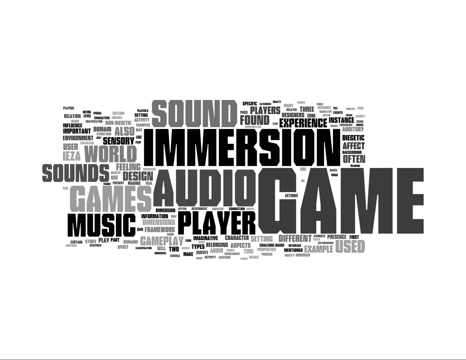 Mini Monster Media: Video Game Music: Player Immersion