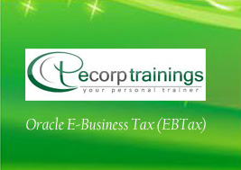 Oracle E-Business Tax (EBTax) Training