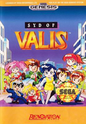Rom de Syd of Valis - Mega Drive - PT-BR
