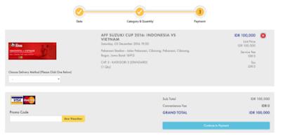Cara Beli Tiket Indonesia vs Vietnam di Situs Jual Tiket Semifinal AFF 2016
