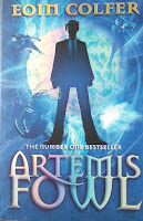 Books: Artemis Fowl by Eoin Colfer (Age: 14+ years)