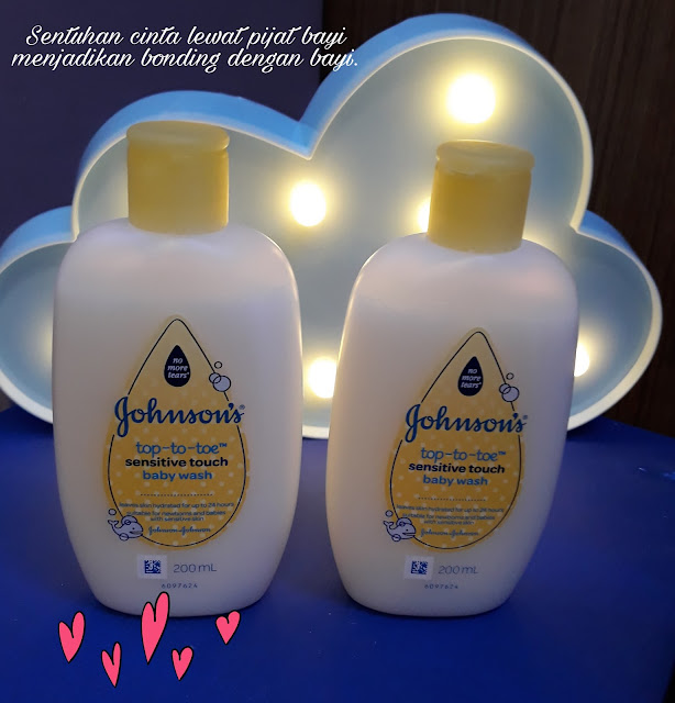 Baby bath johnsons'