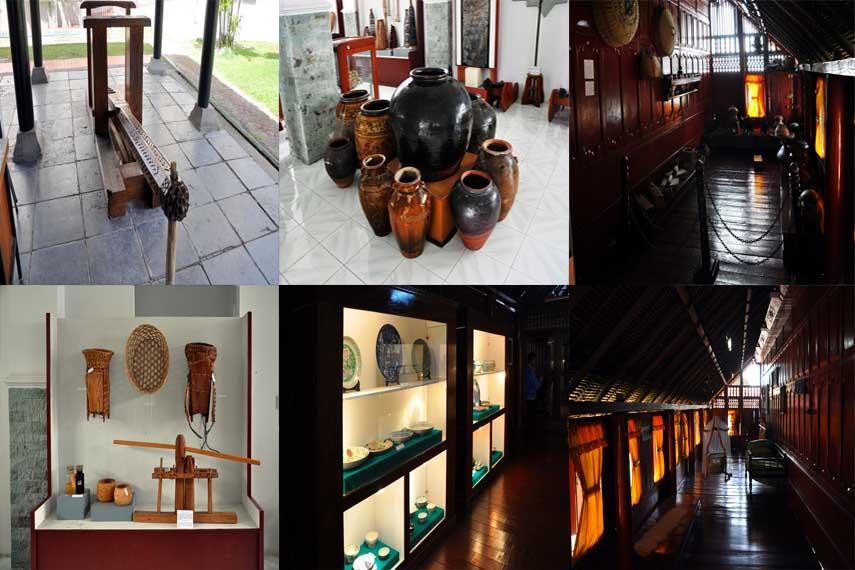 Berbagai macam koleksi di Museum Negeri Aceh