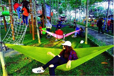 Wisata Hammock Bukit Dhoho Kediri