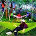 Asyiknya Liburan di Wisata Hammock Bukit Dhoho Indah Kediri
