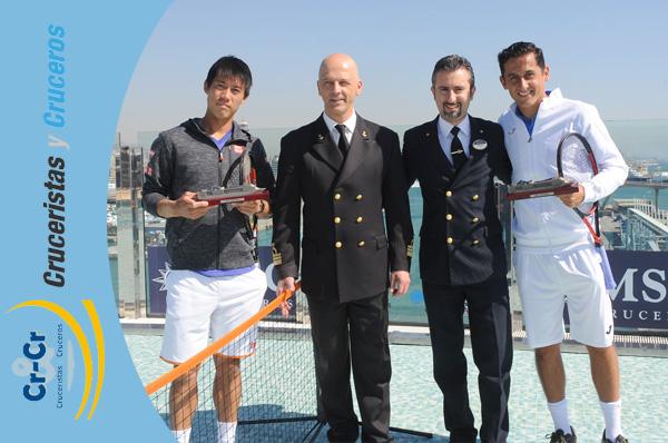 Por segundo año consecutivo, MSC Cruceros patrocina el Barcelona Open Banc Sabadell