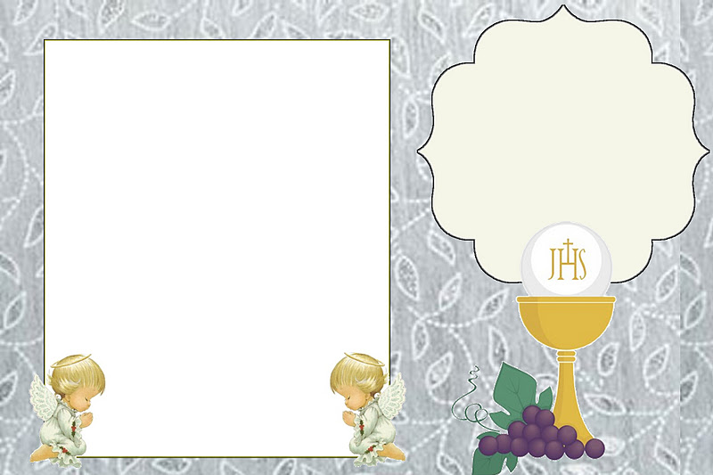 First Communion Free Printable Invitations Or Cards Oh