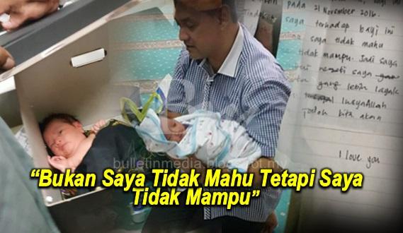 'I Love You, Bukan Tak Mahu Tetapi...' - Bayi Ditemui Dalam Masjid Bersama Satu Nota Dari Ibu