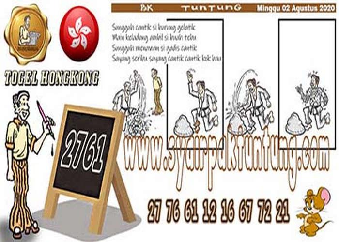 Kode syair Hongkong Minggu 2 Agustus 2020 302