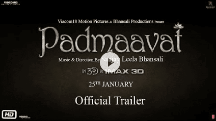 Download Padmaavat(2018) Deepika Padukone Full Movie in HD Blu-Ray