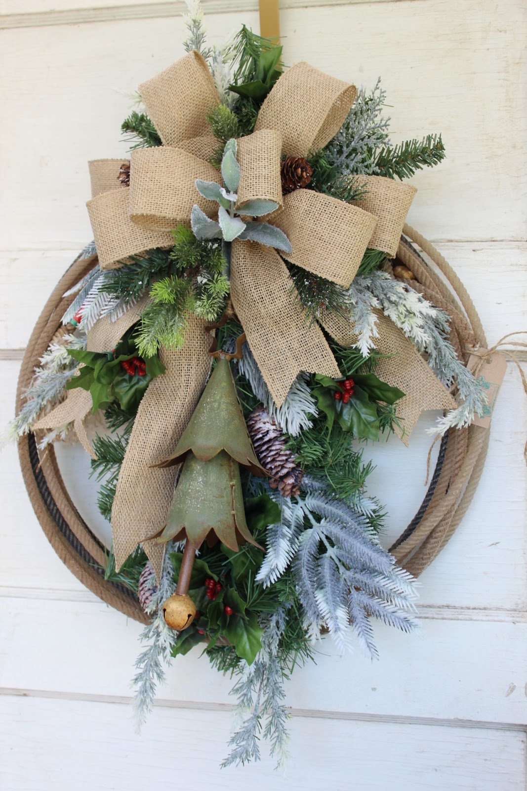 gypsyfarmgirl new rustic christmas wreaths