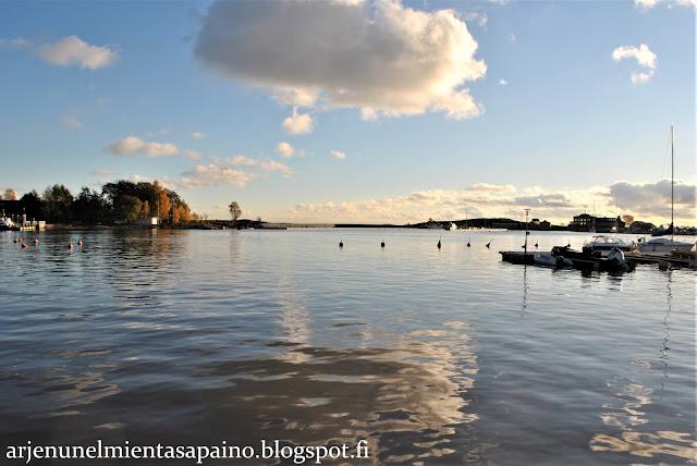 Helsinki, meri, valokuvaus, syksy, ruska