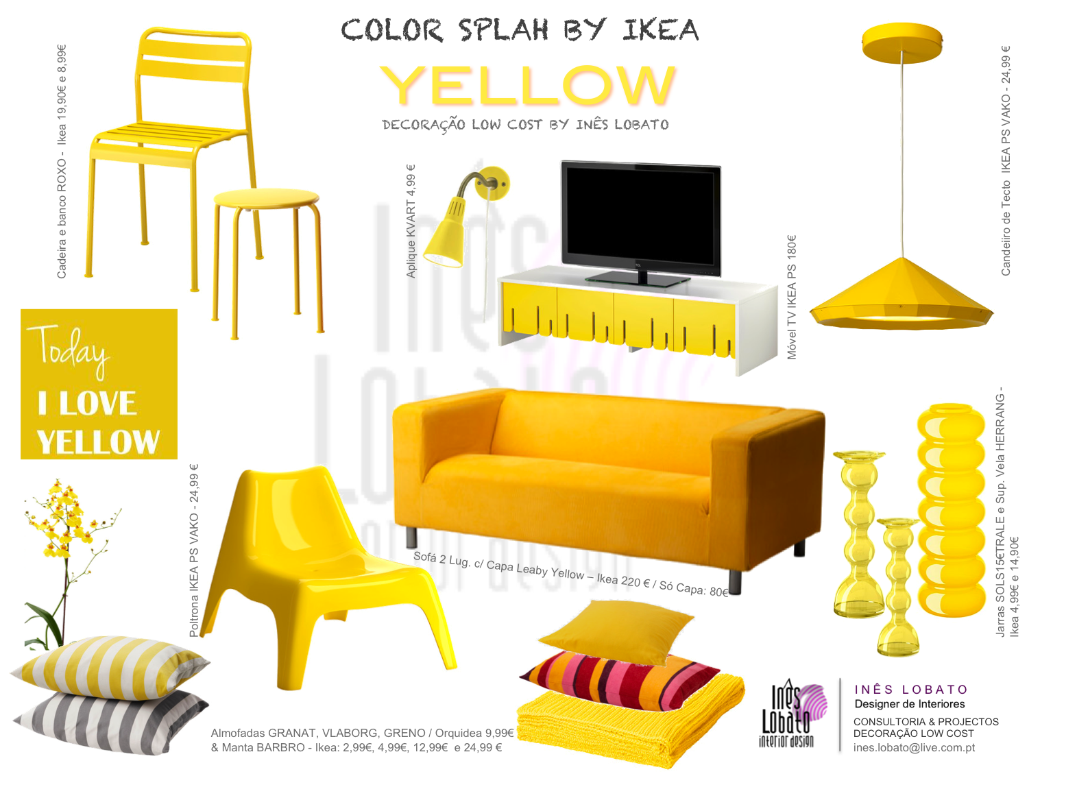 Ikea Billy Yellow L 39univers D 39inès Color Splash Yellow