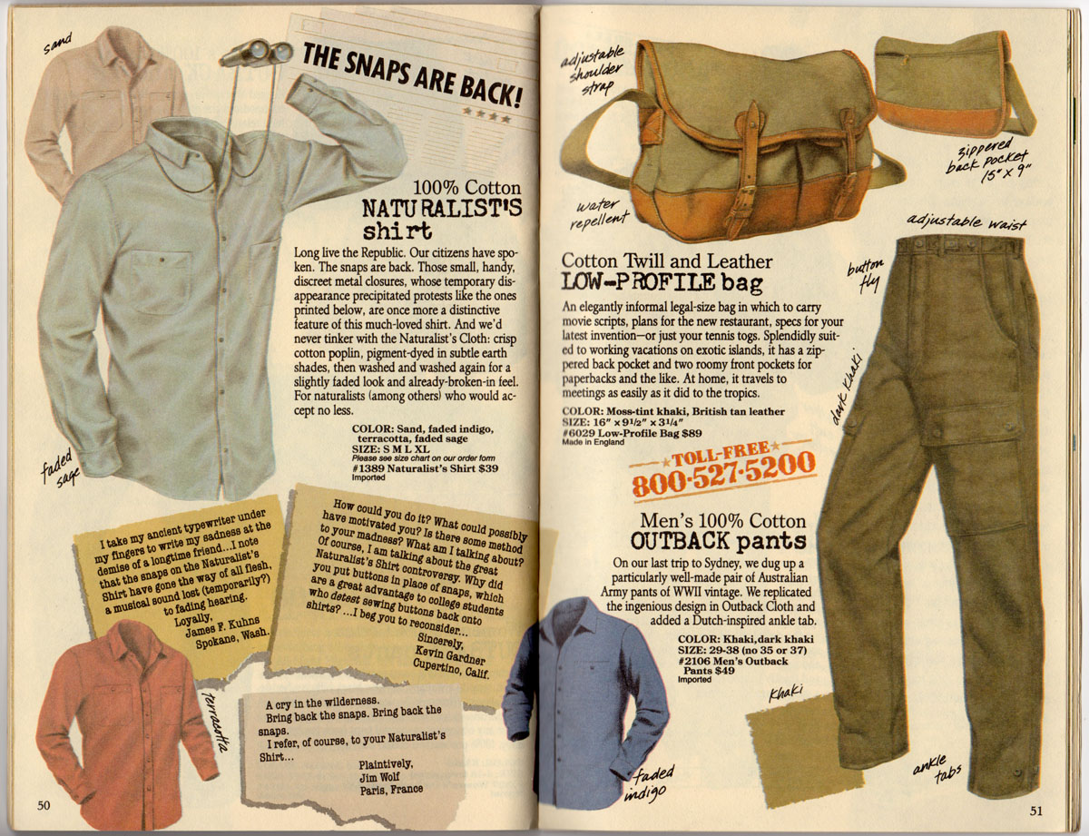 Shopping From The Past Banana Republic Archival Blog