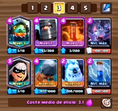 mazo bridge spam gran desafio SHELBI clash royale