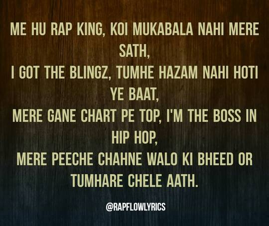 Hindi Rap Quotes - Rap Flow Lyrics | Attitude