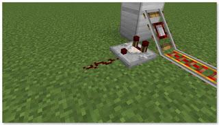 Minecraft 高速トロッコ輸送 アイテム積み込み駅作り方③