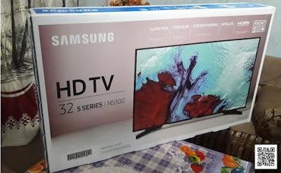 مراجعة وفتح صندوق الفئة 5 من تلفزيون N5300 الذكي بشاشة HD مسطحة مقاس 32 بوصة