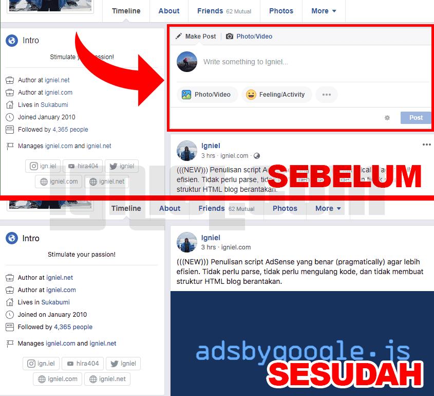 Cara Mengunci Kronologi Facebook