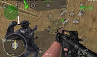 Game android offline : Critical Strike Portable