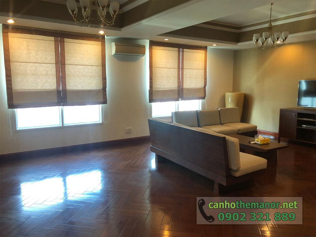 Cho thuê căn hộ Penthouses 300m2 tại The Manor quận Bình Thạnh