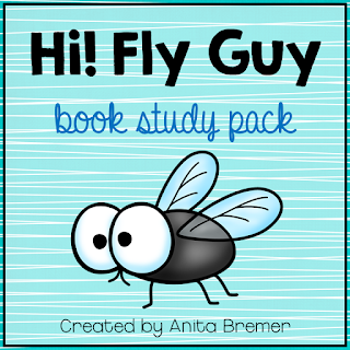 Hi! Fly Guy book study companion activities