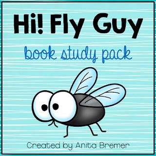 Hi! Fly Guy book study companion activities