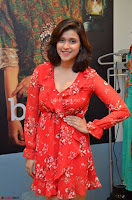Mannara Chopra in deep neck Short red sleeveless dress Cute Beauty ~  Exclusive Celebrities Galleries 040.JPG