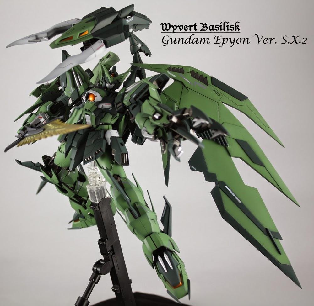 Custom Build 1100 Gundam Epyon Ver SX2Wyvert