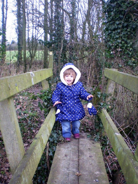 Eldest Adventurer on a Wooden Bridge