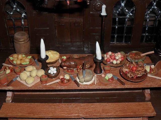 Uma refeição num ambiente popular.