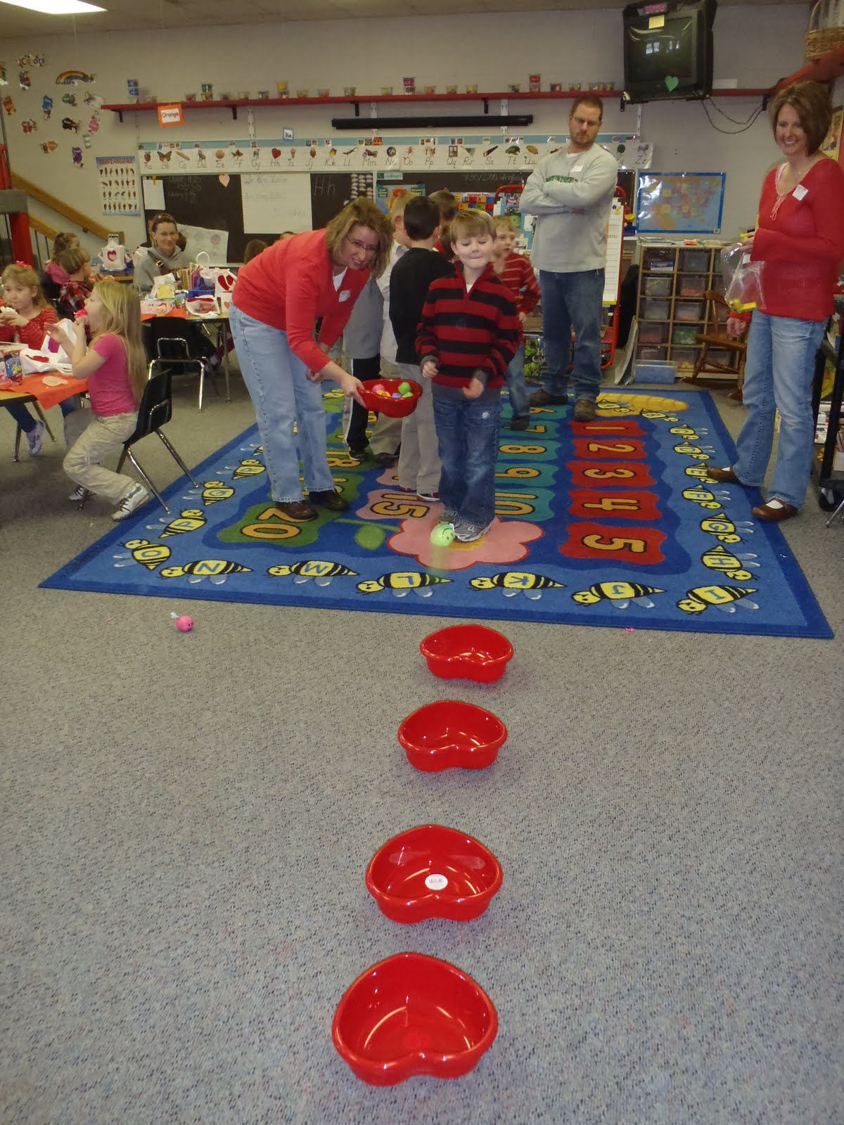 This Is The Day Baylor S Kindergarten Valentine S Party