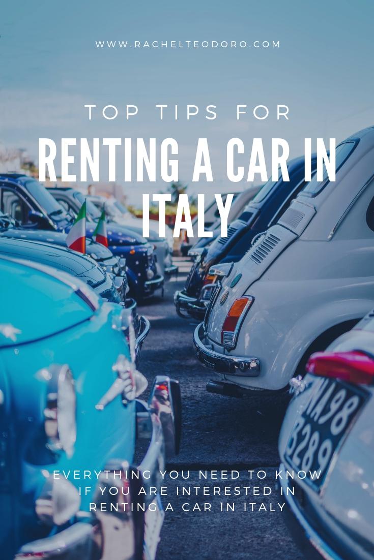 rome rental car