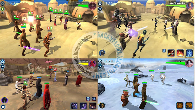 star wars galaxy heroes Apk mod Android