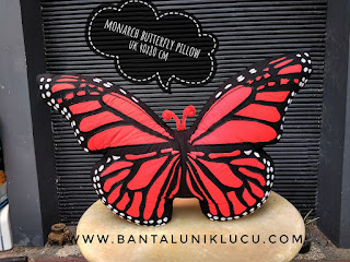 Butterfly Pillow By Bonikha