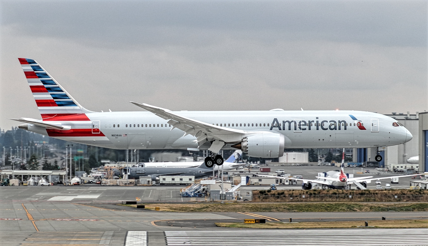 Boeing 787-9 of American Airlines N838AA September 2018 Delivery