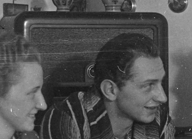 Detail - Eine Familie am Tisch - nach 1939 - vermutlich Niederbayern