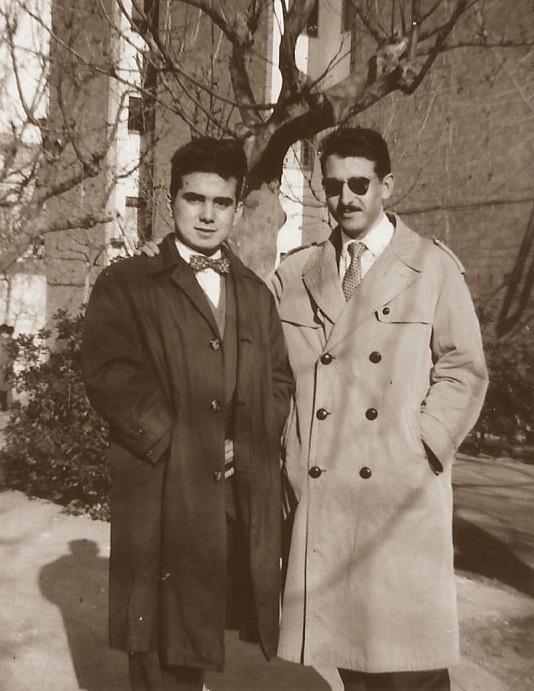 Los ajedrecistas Juli Picatoste y Ricard López