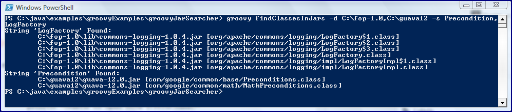 Groovy: Multiple Values for a Single Command-line Option