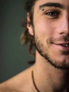 Brilliant Eyebrow Piercing For Men