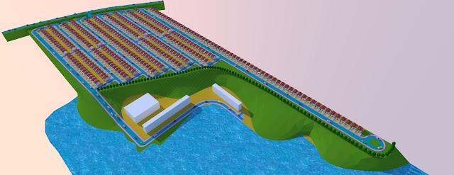 desain rumah tepi danau