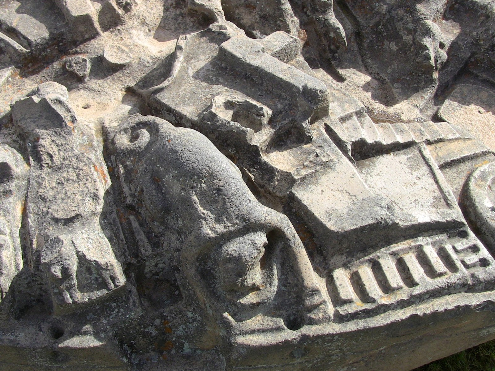 Ghost hunting theories unbelievable carved stone baffling