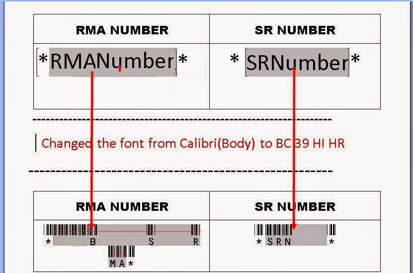 display barcode on Oracle BI Publisher report www.techonestop.com