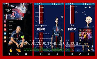 FREE BBM Zlatan Ibrahimovic Themes Based 2.12.0.11 APK