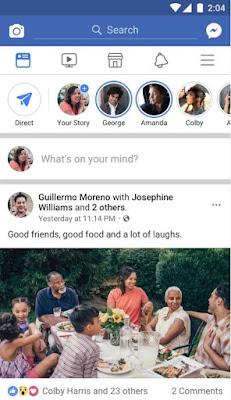 تحميل برنامج الفيس بوك للاندرويد والايفون